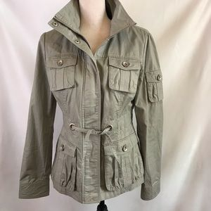 Blanc Noir Utility Jacket Green Size Medium